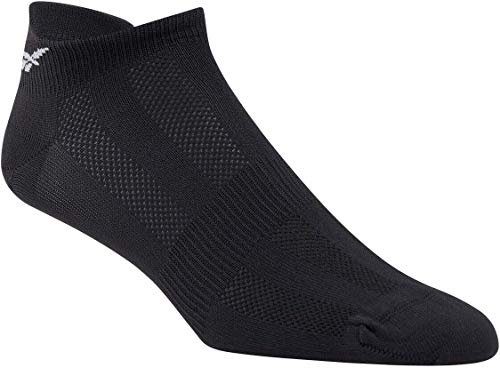 Reebok Tech Style TR W 3P Calcetines, Mujer, Negro/Negro/Medgre, M