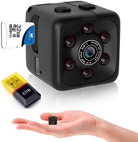 Mini Spy Camera Hidden Camera HD Audio and Video Recording Night Vision Motion Detection Surveillance product image