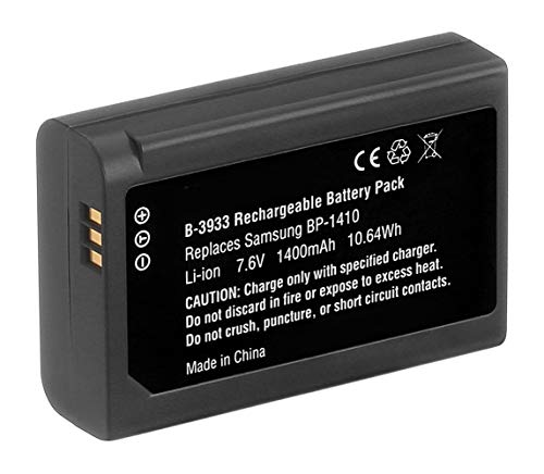 Batería de Repuesto para cámara y videocámara Digital Samsung IA-BP1410, WB2200F