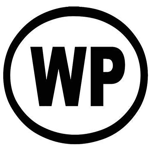 WP Widespread Panic Printed Decal Sticker - 5' Sticker for Cars Windows Notebooks Lockers Etc