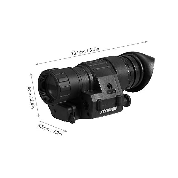 Godyluck Outdoor Compact Digital Night Vision Monocular Scope for Camping & Animal Watching Range 200m Magnification 2X