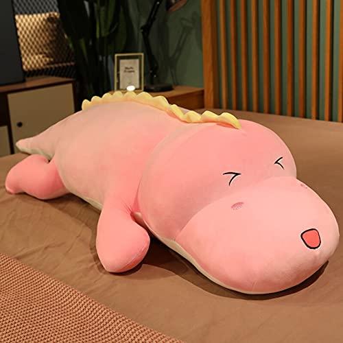 ZHANGWENJIE Cute Crocodile Plush Toy Stuffed Fluffy Cartoon Animal Doll Sleeping Pillow Baby Kids Birthday Gift 100cm A ✅