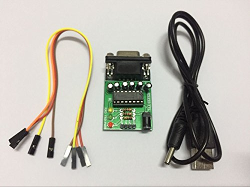 RS232-TTL Programador de Tablero de conversión de un Solo Chip, con Cuatro 20cm línea, un Cable de alimentación USB