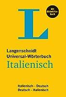 Langenscheidt Universal-Woerterbuch Italienisch - mit Bildwoerterbuch: Italienisch-Deutsch/Deutsch-Italienisch