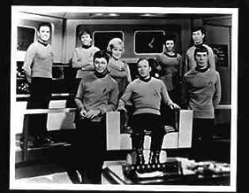 Photo of Original Star Trek Crew on Bridge