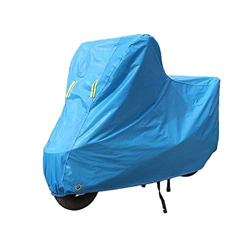 Teli per moto Compatibile con telo coprimoto Husqvarna SMR125, telo coprimoto per protezione outdoor per tutte le stagioni, materiali compositi con rivestimento in PE resistente con fori di bloccaggio