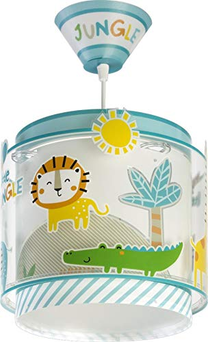 Dalber lampe suspension enfant Little Jungle Animaux