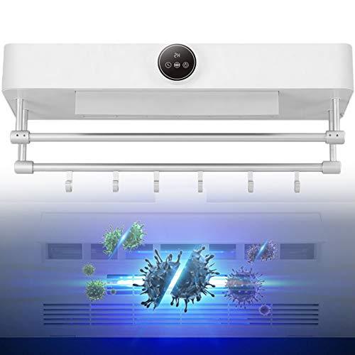 WDSZXH Toallero de Bajo Consumo, Inicio Toallero Portátil de Aluminio con Calefacción, Calentador de Toallas Eléctrico con Almacenamiento y Suspensión (Size : Wire(4m))