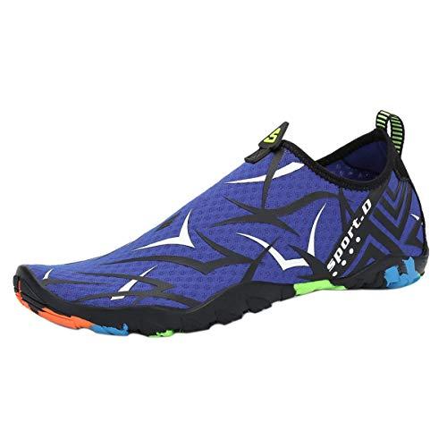 DoGeek Chaussures de Plage Chaussures Aquatiques Homme Femme Plage et d'eau - Water Shoes pour Sport Aquatique,pour Tous Les Sports de Plage