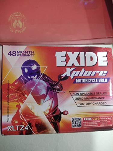 Exide Honda, Hero Motors Bike Sealed Battery Xltz4