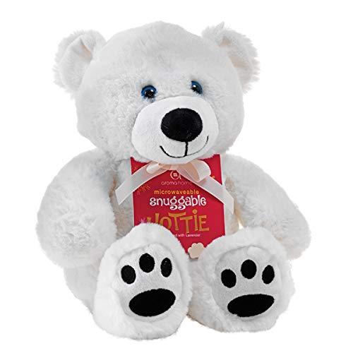 Peluche reutilizable para microondas (oso polar)