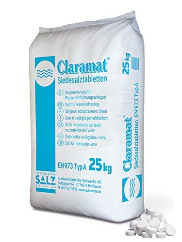 Claramat kookzout tabletten 25 kg/kookzouttabletten/regenereerzout/ontharder zout