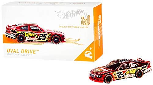 Mattel - Hot Wheels ID Vehículo de juguete, coche Oval Drive, +8 años ( FXB22)