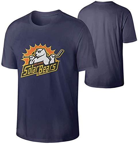 Men's Orlando Solar Bears Hockey Particular T Shirt Navy,Navy,XX-Large
