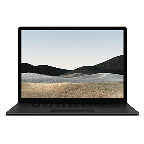Microsoft Surface Laptop 4, 15 Zoll Laptop (Intel Core i7, 16GB RAM, 512GB SSD, Win 10 Home) Matt Schwarz