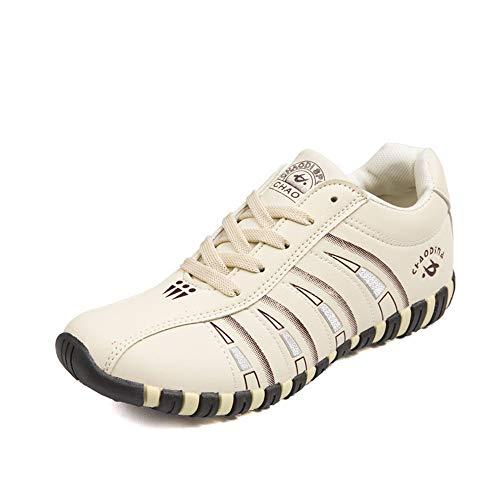 YCH Zapatillas de Mujer para Caminar al Aire Libre, Color Beige, Talla 42 EU