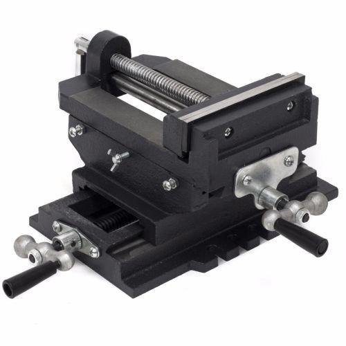 "6"" Cross Drill Press Vise Slide Metal Milling 2 Way X-Y Clamp Machine"