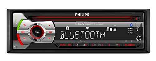 Philips CEM2220BT - Radio CD de Coche (RDS Am/FM, MP3, USB, Bluetooth) (Reacondicionado)