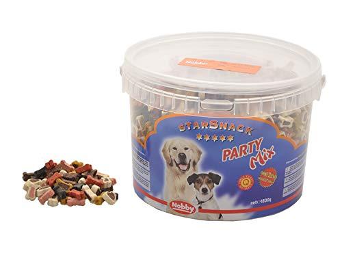 Nobby Friandise Seau Party Mix pour chien, 1,8 Kg
