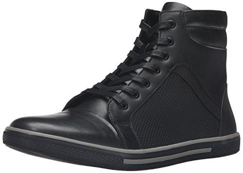Kenneth Cole Unlisted Men's Crown Worthy Fashion Sneaker, Black, 7 M US