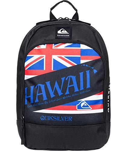 Quiksilver Boys' CHOMPINE Backpack, BLACK, 1SZ