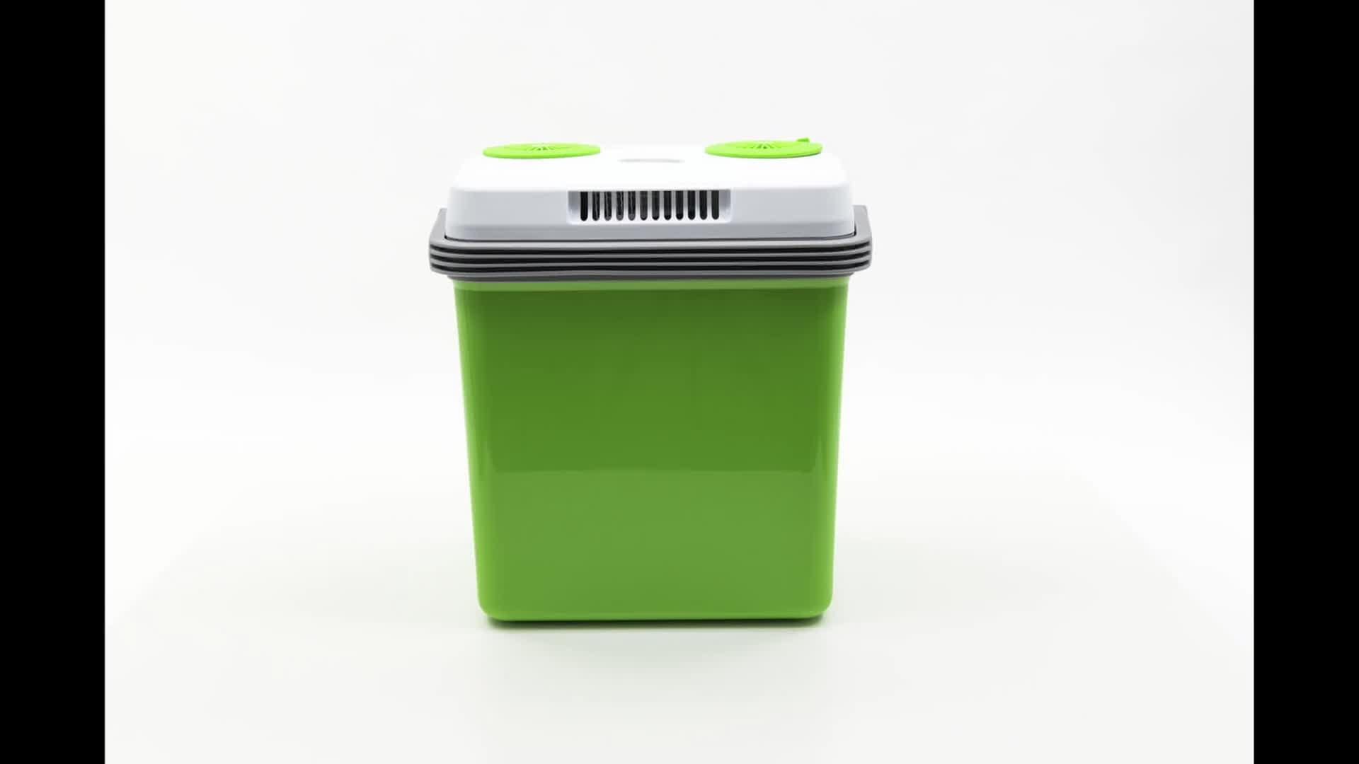 41umuGqOcvL SEVERIN Elektrische Kühlbox (20 L) mit Kühl- und Warmhaltefunktion, Auto Kühlbox mit 2 Anschlüssen (Netzteil…
