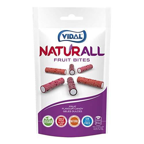 Vidal Fruit Bites - Dulce afrutado, 180 g