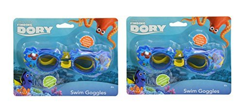 Finding Dory Deluxe Character Goggles for Age 4 and up (2 Goggles)