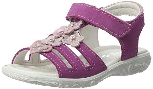 RICOSTA Mädchen Chica Sandalen, Pink (Candy), 24 EU