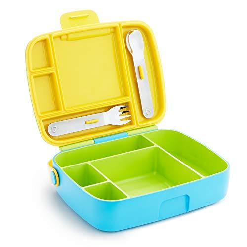 Munchkin Bento Box Toddler Lunch Box Green