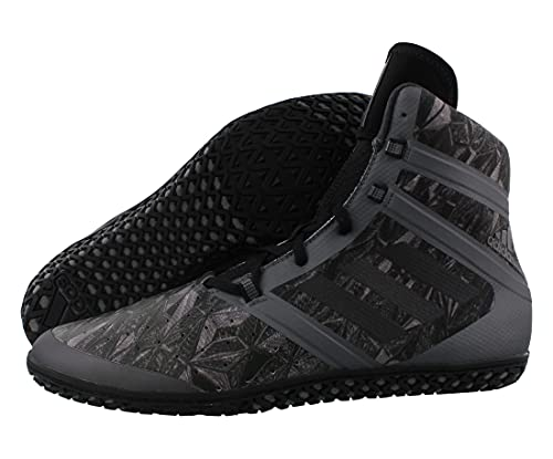adidas Flying Impact Wrestling Mens Shoes Size 5.5, Color: Charcoal/Black