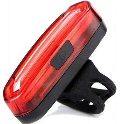 Lanterna Sinalizador Traseiro Bike Recarregável Led Ws-096