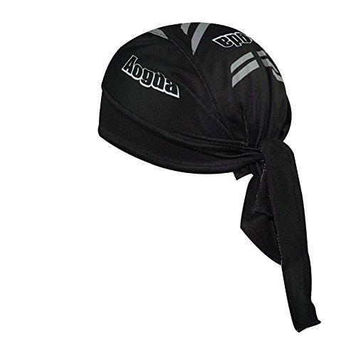 Little Sporter Sports Pirat Bandana Cap Schwarz Herren Damen Biker Bandanas Kopftuch Hat - 3