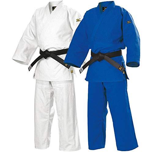 Hatashita MIZUN0 Yusho Competition Judo Gi Uniform - IJF Approved (2, Blue)