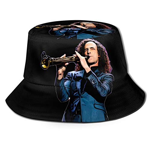 Majunnn Kenny G Fashion Summer Breathable Bucket Hat Fisherman Hat Unisex