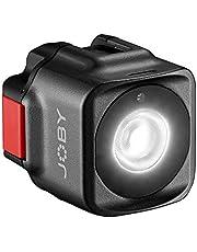 JOBY Beamo Luz LED para Smartphone y Cámaras Sin Espejos - Compacta, Carga Inalámbrica, Bluetooth, Impermeable, Apta para Vlogging, Fotos y Contenidos de Vídeo
