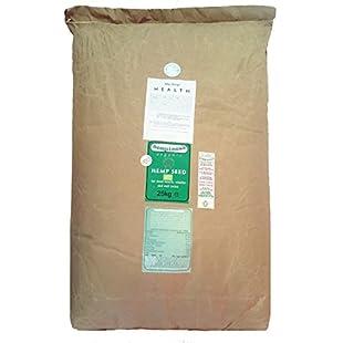 Customer reviews Hempiness Organic Premium Whole Hemp Seed 20kg