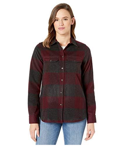 FJALLRAVEN Damen Canada Shirt Ls W Hemd, Dark Garnet, XXS