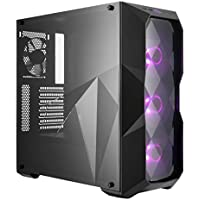 Cooler Master MasterBox TD500 Midi-Tower Negro - Caja de Ordenador (Midi-Tower, PC, De plástico, Acero, Negro, ATX,Micro ATX,Mini-ITX, Juego)