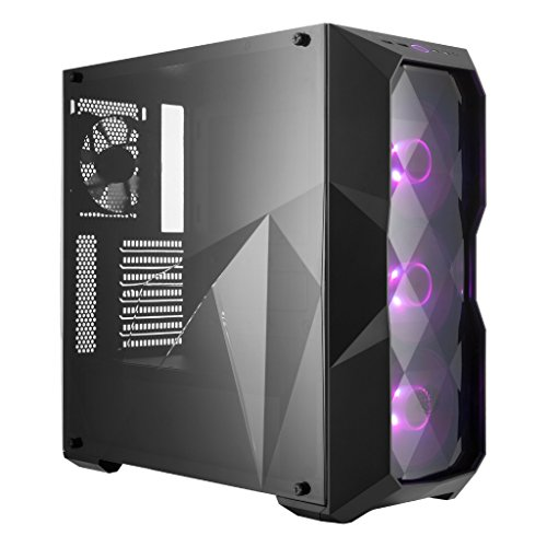 Cooler Master TD500 Case Midi-Tower, 3 Ventole RGB da 120 mm, Nero
