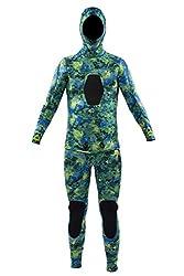top 10 body glove ski Body Glove 5mm Free Dive 2PC Beaver Tail Glove Neoprene Suit-17179-L-KPC, Large