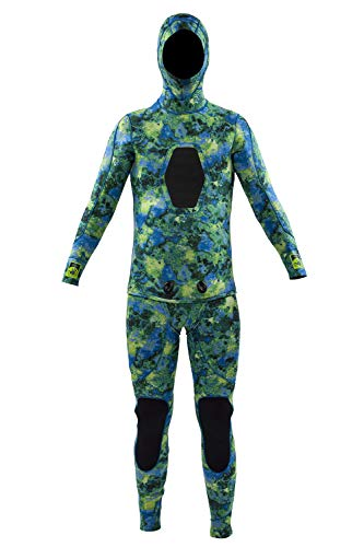 Body Glove 5mm Free Dive 2PC Beaver Tail Wetsuit-17179-L-KPC, Large