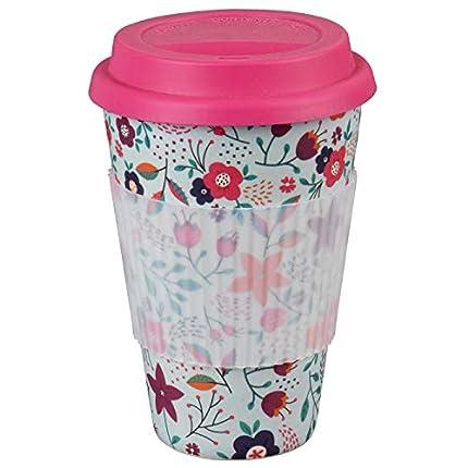 Taza Sippy reutilizable para llevar sin BPA con amapolas Cambridge® CM04436
