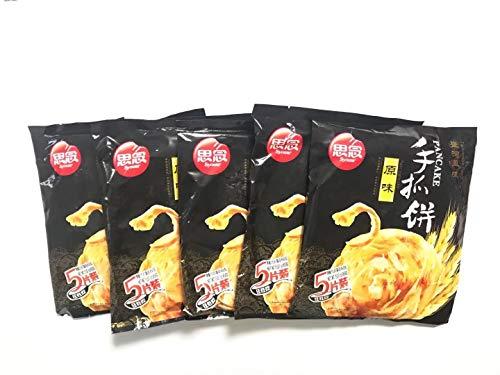 思念原味手抓餅 【5点セット】インド風味ネギパンケーキ 450g×5点