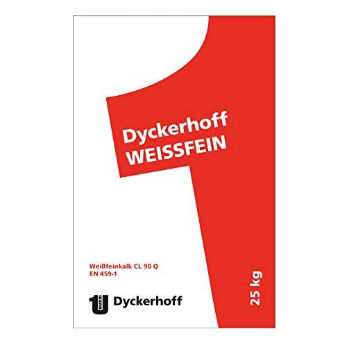 Dyckerhoff Weissfeinkalk CL 90 Q ungelöscht 25kg
