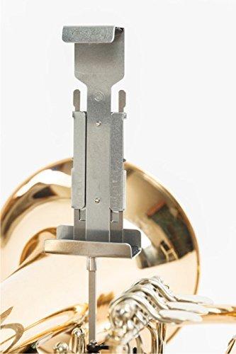 eyeNotes G3000T für Trompete bis Tuba, Marschgabel, Marschbuchhalter, Notenhalter aus Edelstahl