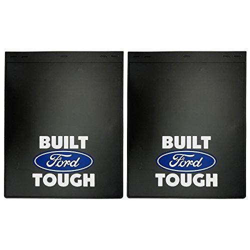 "Built Ford Tough Mud Guard 24"" - Set of 2"