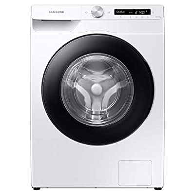 Samsung Series 5+ WW90T534DAW/S1 with Auto Dose Freestanding Washing Machine, 9 kg 1400 rpm, White, A Rated