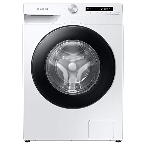 Samsung WW90T534DAW/S1 Freestanding Washing Machine with ecobubble™ and Auto Dose, 9kg Load, 1400rpm Spin, White