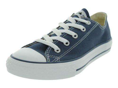 Converse Chuck Taylor All Star Core Ox, Zapatillas Infantil, Azul (Blue Marine), 28 EU